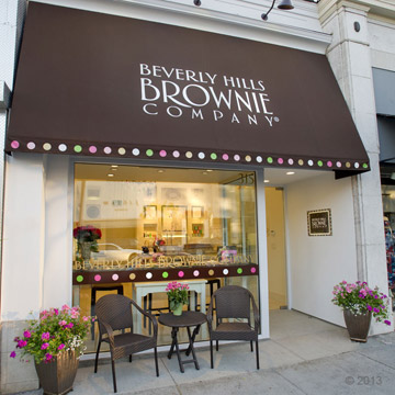 Beverly Hills Brownie Welcome Brownies